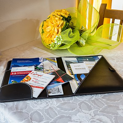 Hotel wallet in your room at Hotel Lamm