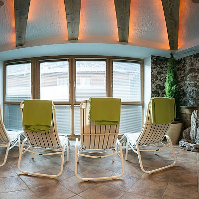 Sala relax nell´area benessere